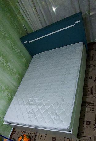 Кровать с матрасом, пр-во Белорусия