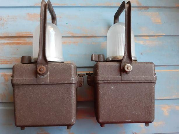 2 felinare lampi Wonder type TIFON anii 40