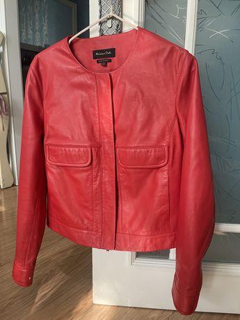 Продам куртку (пиджак) из натуральной кожи Massimo Dutti
