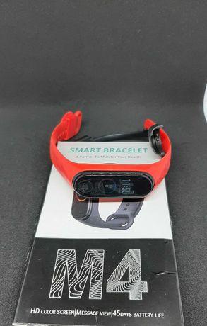 Смарт-браслет, фитнес-трекер М4 с пульсометром