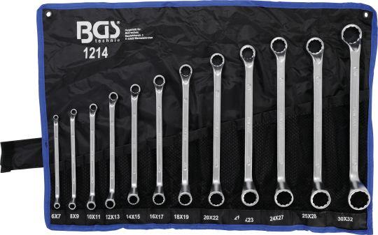 Ключове лули 6-32мм к-т 12бр BGS