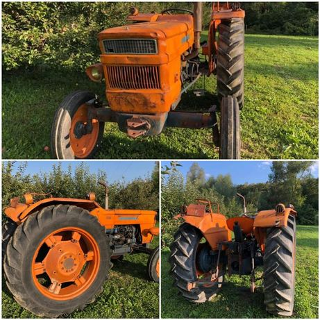 Tractor FIAT Someca 550 - 4cilindri-66cai + Remorca mig