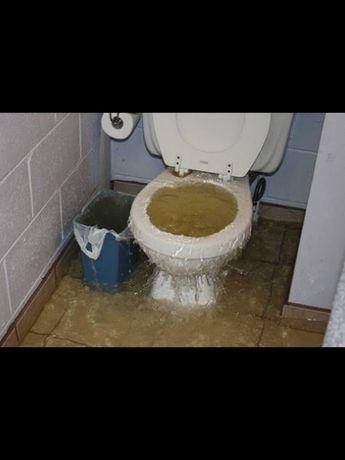 Промывка канализации под давлением, прочистка канализации, чистка труб