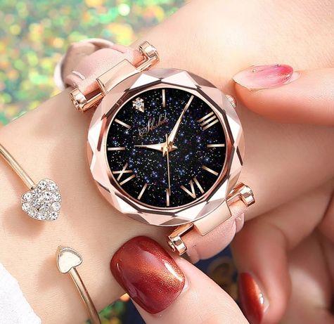 Дамски часовник#Fashion#Нов#Розов