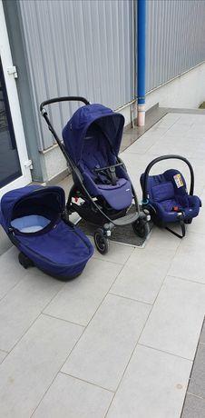 Vând cărucior Maxi Cosi 3 în 1, Scaun mașina Maxi Cosi cu izofix
