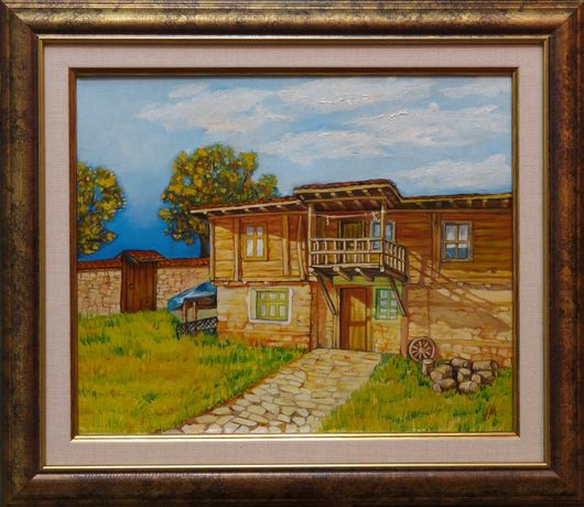 Картини на платно рисувани с маслени бои