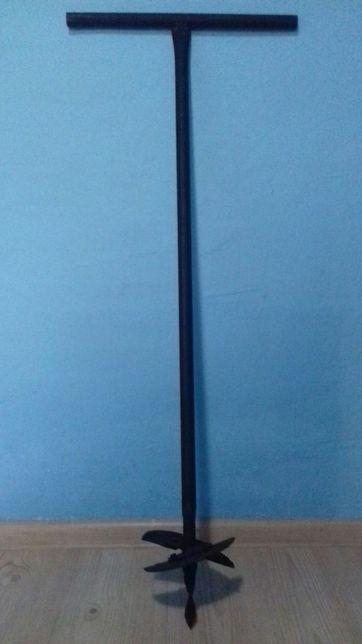 Burghiu manual pentru pamant reglabil 17cm Foreza