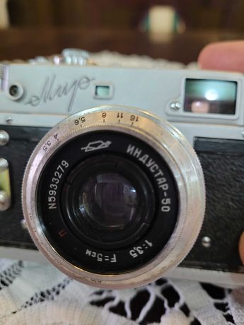 Aparat foto Mir Retro fabricat in URSS dupa Laika.