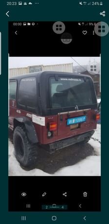 Hard Top Wrangler original Masina completa 6500€