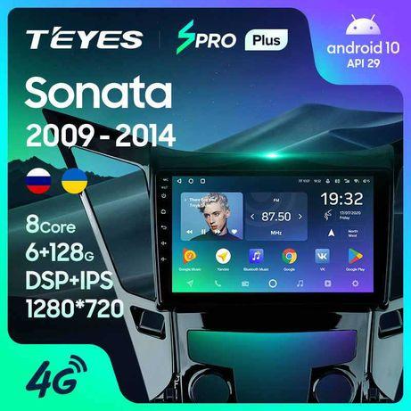 TEYES Штатная магнитола Хендай Соната Hyundai Sonata 6 09 - 14