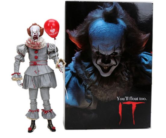 Figurina IT Pennywise 18 cm Stephen King Clown blood