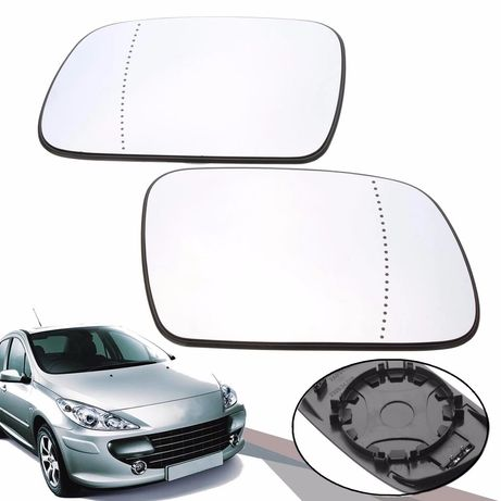 Стъкло за огледало Peugeot 307 тонирано асферично ляво/дясно
