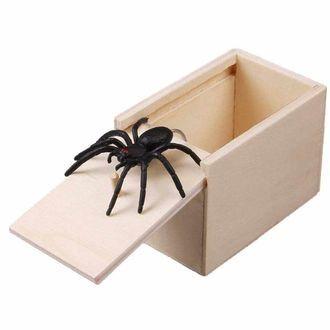 Паук из коробки  Для прикола
