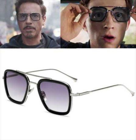 Очилата на Tony Stark Iron Man Spider Man Spider Man 2020 2019