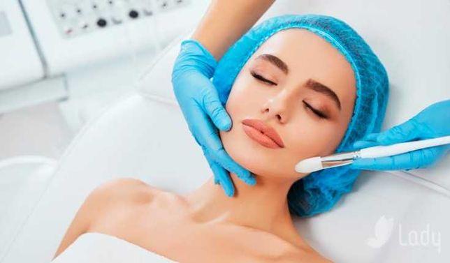 Косметологические услуги : Чистка лица - Осветление пигментации