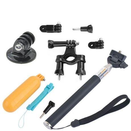 Промопакет 1: монопод + плувка дръжка + тръбна стойка за екшън камери
