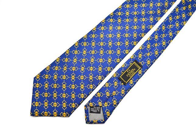 Cravata Fendi 100% Matase Albastra Conditie foarte buna CR26