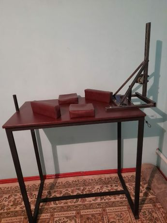 Армрестлинг тренажер жане стол