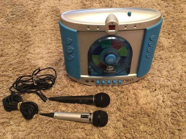 Set Karaoke aparat Canta Tu CD VIDEO + 2 microfoane cu fir