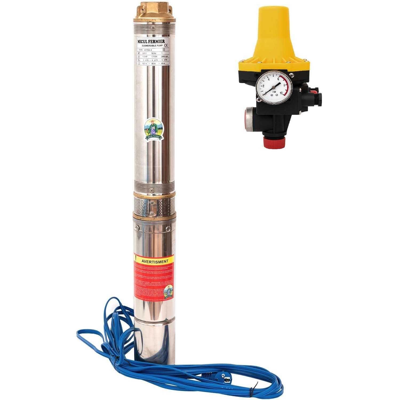 Pompa apa submersibila 1.1kW, 120, 1tol, MFE 4STM4-8 + Prescontrol