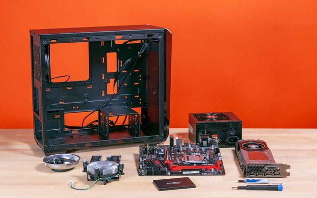 Сборка ПК под заказ, Услуги по сборке компьютеров от 4000 тенге
