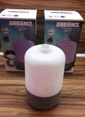 Овлажнител ултразвуков с аромотерапия и ЛЕД лампа