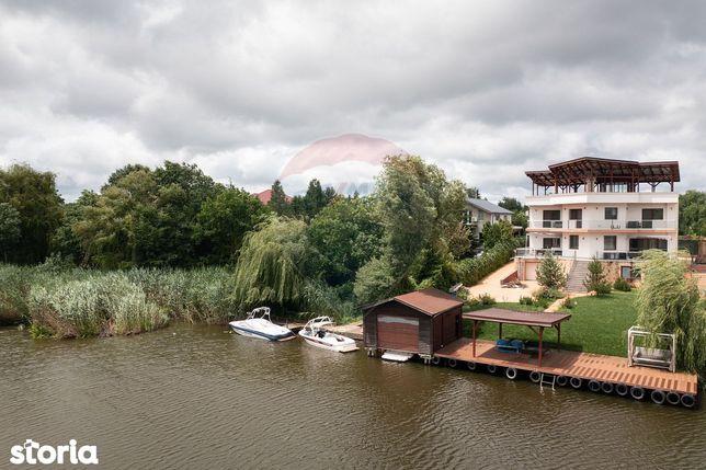 """Vila """"first class"""" in zona de top a lacului Snagov"""