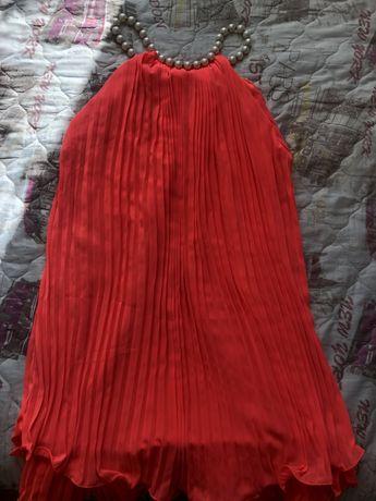 """Лятна рокля в цвят """"корал"""""""