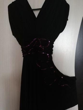 Дамска рокля черна