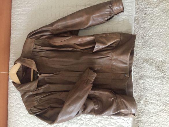 100% дамско кожено яке от телешки бокс