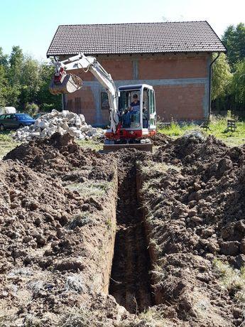 Excavator / Miniexcavator de inchiriat - 3,5 T