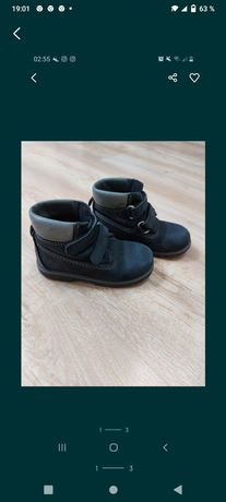 Продам мальчиковские осенние ботиночки, размер 25