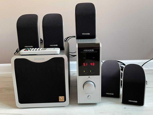 Колонки Microlab + сабвуфер (акустическая система)