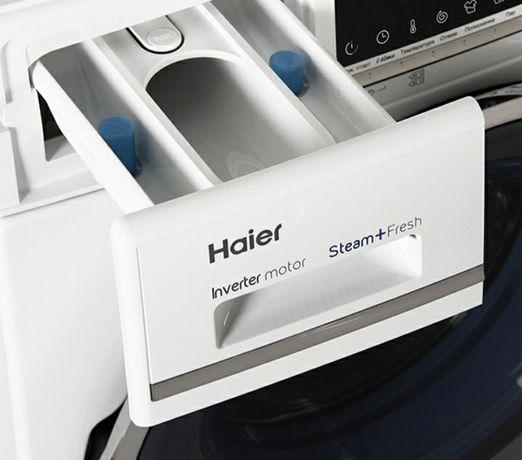 Продам стиральную машинку Haier Inverter mator Steam + Fresh на 6 кг.