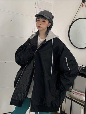 Бомбер оверсайз куртка