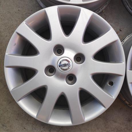Оригинални алуминиеви джанти за Nissan