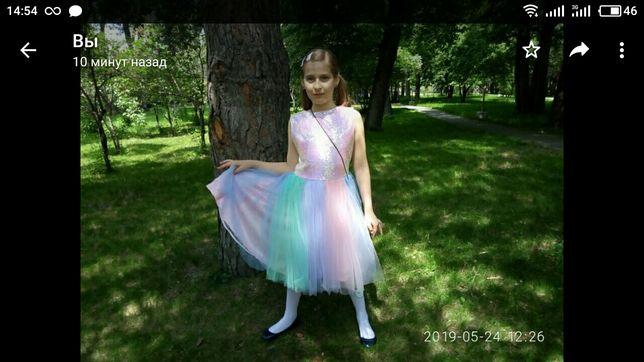 Нарядное платье 12 лет