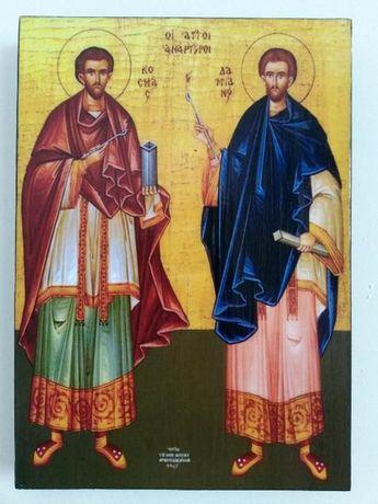 Икона на Свети Свети Козма и Дамян icona Sveti Sveti Kozma i Damian