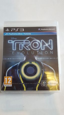 Playstation 3 PS3 game - Tron Evolution sau Wonderbook Book of spells