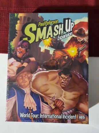 Boardgame Smash Up: World Tour International Incident + Big Geeky box