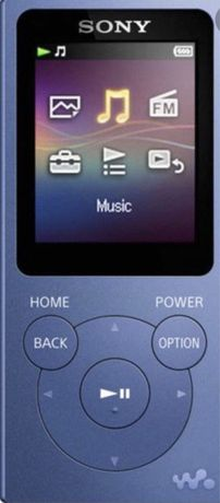 Mp3-плеер Sony NW-E394 flash8GB синий