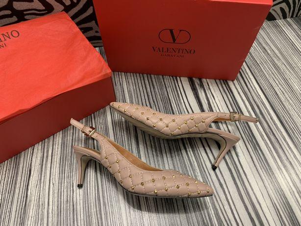 Pantofi Valentino/POZE REALE:piele naturală 100% calitate superioară