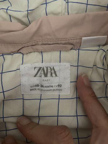 Куртка на девочку осень zara