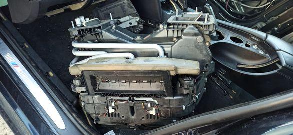 Кутия за парно за Бмв Е60/BMW e60 e61 с радиатор вентилатор Комплект