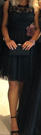 Бална черна рокля