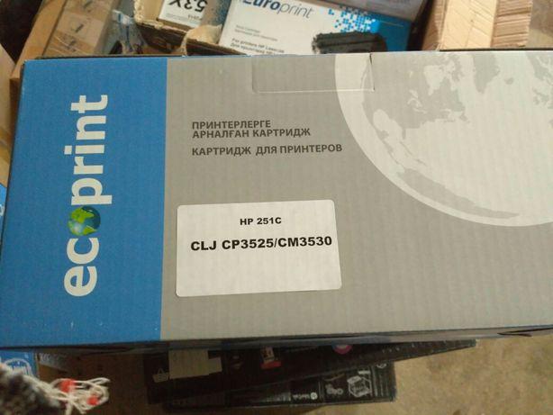 Продам картридж HP 504A (CE 250, 251,252,253)