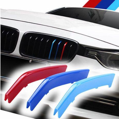 Emblema ornament plastic grila BMW M Power 1 3 5 X1 X3 X4 X5 GT