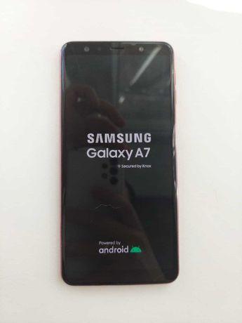 Samsung Galaxy A7 (2018) розового цвета