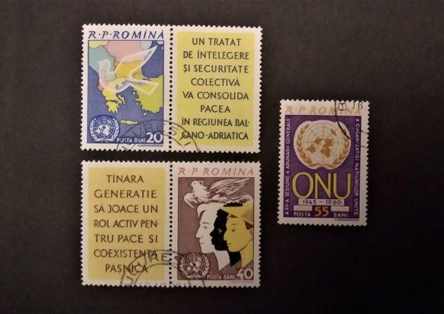 Timbre românești, seriile: LP 532, 549, 566, 817, 837, 838