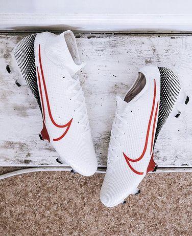 •Nike Superfly VII FG ELITE White-Black-Red